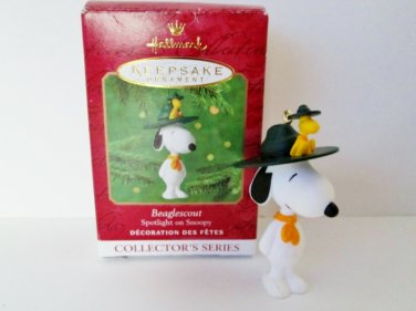 Hallmark Spotlight on Snoopy 2001 Beaglescout 4th in Series Peanuts