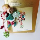 The Mistletoe Fairies, Club Exclusive 2003 Hallmark Ornament Boy Girl Faeries