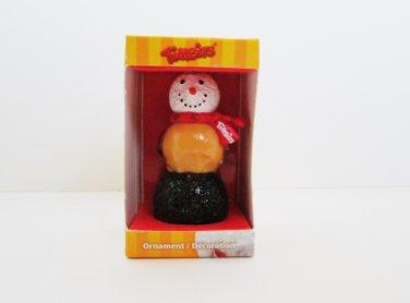 Tim Hortons Snowman Timbits Donut Christmas Ornaments 2010