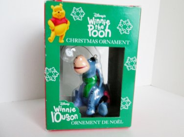 Eeyore catching a Snowflake Christmas Ornament Disney Winnie the Pooh