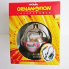 Noma Ornamotion Baby's First 1st Christmas 1993 Rotating Ornament with Motor, Baby Bassinet and Toys