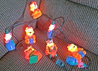 Disney Winnie the Pooh 10 Light Indoor Christmas Lights Tigger Piglet
