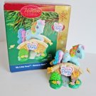 My Little Pony, Rainbow Dash, Carlton 2005 Christmas Ornament copyright Hasbro Pony Pals