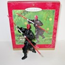 Darth Maul Star Wars Episode 1 Hallmark Ornament dated 2000