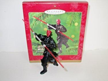 Darth Maul Star Wars Episode 1 Hallmark Ornament dated 2000