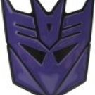 Officially Licensed Transformers Decepticon Belt Buckle