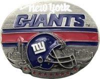 Licensed New York Giants Helmet Belt Buckle