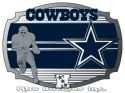 Dallas Cowboys Nfl Officially Licensed Belt Buckle