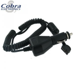 Cobra Dc Auto Power Cord For Use With Gps 100,500,1000