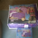 Hannah Montana 4 Piece Comforter and Sheet Set