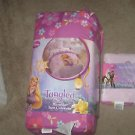 Disneys Princess Rapunzel Tangled 4 Piece Twin Comforter and Sheet Set