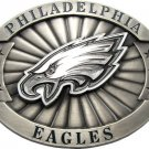 Philadelphia Eagles Earrings, Necklace and Belt Buckle