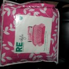 Room Essentials Pink Vine 6 Piece Twin Bedding Set