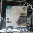 Room Essentials Black Twin/Single Size Extra Long Bedding Set
