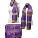 LSU Louisiana State Tigers  Fight Song Musical Scarf