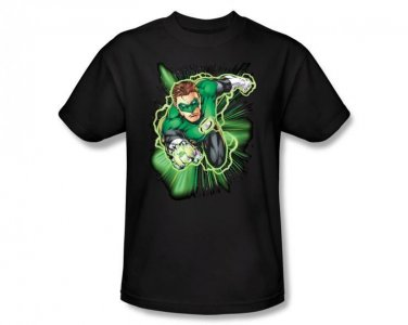 DC Comics Green Lantern Hal Jordan Men's Black Adult Shirt