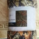 Mainstays Camo Plush Throw Blanket