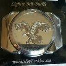 Eagle Large Lighter Belt Buckle