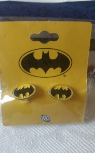 Batman Classic Black and Yellow Officially Licensed Cufflinks