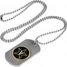 Vanderbilt Commodores Dog Tag with a embedded collegiate medallion