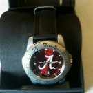 Alabama Crimson Tide Watch AnoChrome Leather Band Sports Watch