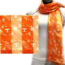 Tennesse Volunteers Officialy Licensed Ncaa Floral Scarf