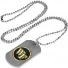 Wake Forest Demon Decons Dog Tag with a embedded collegiate medallion