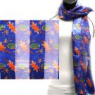 Florida Gators Officialy Licensed Ncaa Floral Scarf