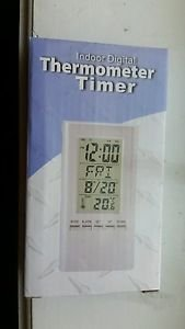 Indoor Digital Thermometer Timer