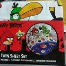 Angry Birds Twin/Single Size Sheet Set