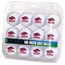 Arkansas Razorbacks Dozen 12 Pack Golf Balls