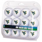 West Virginia Mountaineers Dozen 12 Pack Golf Balls