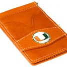 Miami Hurricanes Orange Officially Licensed Players Wallet