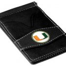 Miami Hurricanes Black Officially Licensed Players Wallet