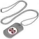 Mississippi State Bulldogs Dog Tag with a embedded collegiate medallion