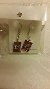 Nebraska Cornhuskers Ncaa Licensed dangle Earrings