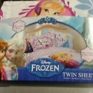 Disneys Frozen Twin/Single Size Sheet Set