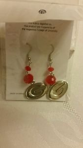 Georgia Bulldogs Ncaa Licensed dangle Earrings