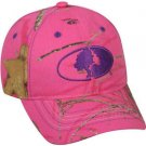 Mossy Oak Lifestyles Pink Camo Cap with Adjustable Closure