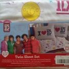 One Direction 1D Twin/Single Size Sheet Set