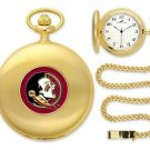 Florida State Seminoles Officially Licensed Gold Pocket Watch