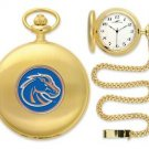 Boise State Broncos Officially Licensed Gold Pocket Watch