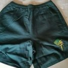 2 Guy Harvey Large Mouth Bass Cotton Sport Shorts, Small (Green and Blue)