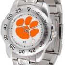 Clemson Tigers Womens & Mens Sport Steel Watches