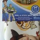 Disney Toy Story Peel and Stick  Glow in the Dark Wall decals Stickers