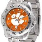 Clemson Tigers Womens & Mens Sport AnoChrome Steel Watches