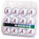 Alabama Crimson Tide Dozen 12 Pack Golf Balls