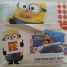 Despicable Me Minions Twin/Single Size Sheet Set