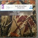 Mainstays Camo King Size Microfiber Sheet Set