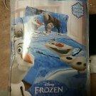 Disney Frozen Olaf 4 PieceTwin/Single Size Comforter Sheet Set